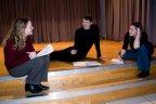 A l'académie de La Bouverie. Répétitions, comme toujours, dans la joie et l'harmonie. (Photo: Daniel Ballez)