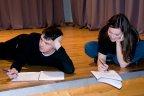 Ariane et Olivier prennent note des consignes. Concentration, bonne humeur et complicité. (Photo: Daniel Ballez)