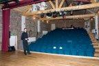 La salle du Petit Théâtre de Forzée. (Photo: Daniel Ballez)