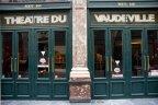 Aux Galeries Royales Saint-Hubert à Bruxelles, le Théâtre du Vaudeville. (Photo: Daniel Ballez)