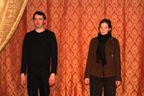 Ariane et Olivier sont à Erbisoeul. Pour cette deuxième saison, reprise des répétitions en janvier dans la salle du Box Théâtre.<br />(Photo : Yvonne Vansteenkiste)