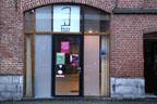 Arrivée à la Salle La Fenêtre à Tournai.<br />(Photo : Yvonne Vansteenkiste)